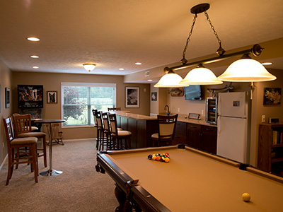 Basement Design Photo