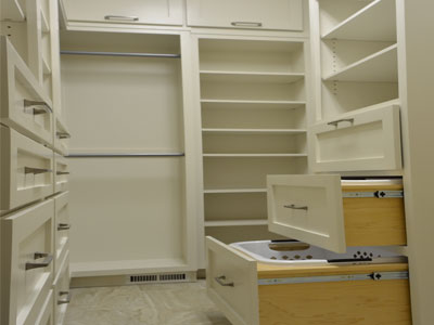 Custom Closet Construction on Barington