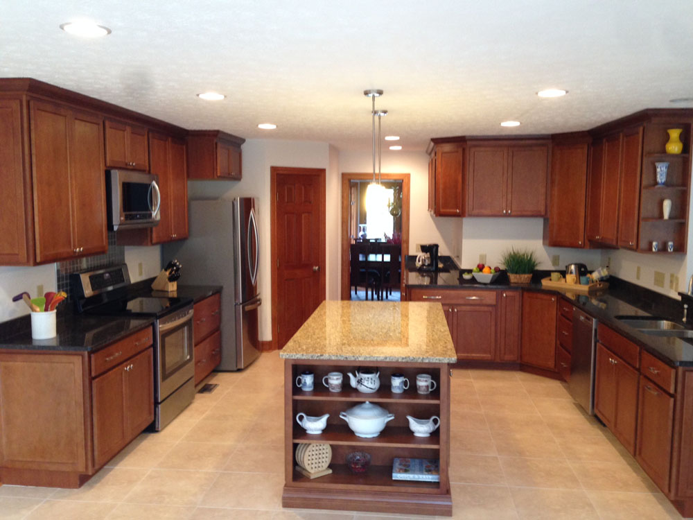 Dayton Kitchen Remodelling And Design James Construction And Renovation Dayton Ohio